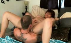 Amateur mature couple fucks on webcam