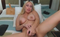 Deep Pussy Fuck For Horny Blonde Cougar