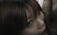 Japanese amateur slut Mayumi cumshot on camera