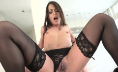 Anal babe gives blowjob