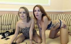 Teen girl toying her lesbian friends ass