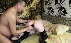 Russian Teen Nymph In Stockings