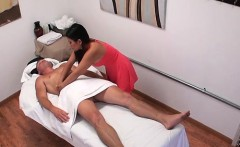 irresistible chick gives client a rub of a lifetime