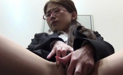 Hairy pussy asian fingers