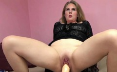 Dani Arcadia is fucking her twat with a big toy