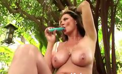 a real MILF with 38D tits