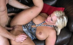 Cute milf with great figure rides wang until agonorgasmos