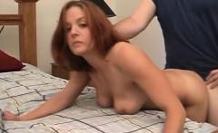 amateur redhead slut wife blowjob
