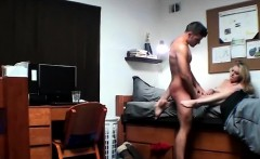 blonde beauty cassidy ryan eaten out and fucked in dorm room