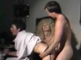 Two Vintage Sluts Share a Cock