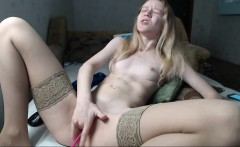 Big Titty Blonde Whore Plays With Toys and Masturbates Solo