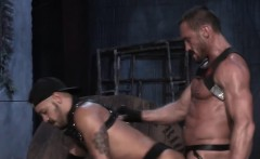 Bareback action with a big cock is the best of all