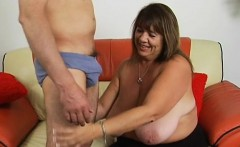 sexual plump is feeling fat dick stuffing mouth and snatch