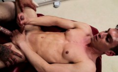 Athletic twink assfucked at doctors office