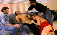 Anal Virgin Turns Wild Swinger