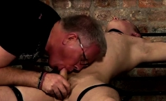Gay twink boys bondage jocks Draining A Boy Of His Load