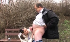 old dude fucks young teen and gets his pecker sucked hard