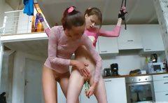 18yo russian teenies playing with toys