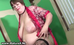 Older perverted busty puts make