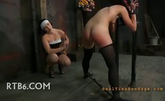 Pantyhose Clad Submissive