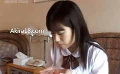 Schoolgirl from Tokyo banged really hard