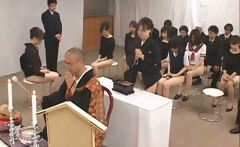 Free jav of Asian girls go to church