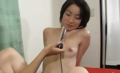 Deep anal sex with hairy japanese woman