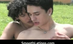 Gay clip Mexican twinks go gay bareback