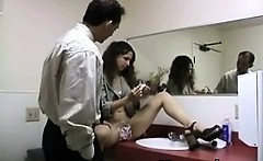 Punishment Loving Chick In Seductive Spanking Teen