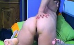 Large ass and big tits from old granny on webcam skype