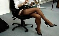 My Beautiful Secretary Is Such A Tease