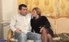Mature Russian Woman Fucked And Cummed On