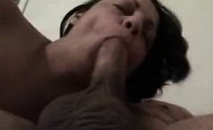Nina munching on my cock