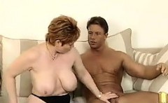 Mature Woman Having Sex With A Handsome Guy