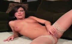 Busty model anal pain