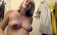 Pregnant Blonde Cam Girl