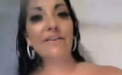 Slut Masturbates In The Shower