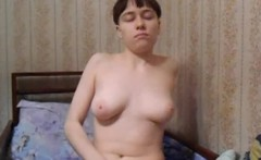 Webcam Girl In A Bowl Cut Masturbates