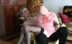Redhead Mom Helena and Slava 2