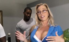 Amber Lynn Bach gets gangbanged and creampied
