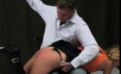 Teen Ass punished hard by daddy