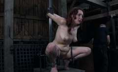 Cutie receives hardcore clamping for her biggest racks