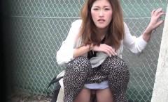 Weird japanese pissing