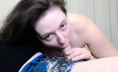 Blowjob And Fleshlight On Webcam