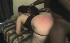 Spanking And Fucking Her Butt that is Huge