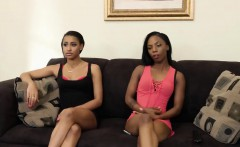 Amateur black lesbians sure about hitting the g-spot