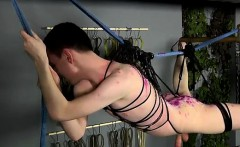 Muscle hunk bondage and hot male bondage gay He'd already ha