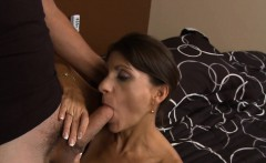 Ardent mature playgirl goes hardcore to get sticky creampie
