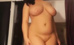 Russian BBW and her beautiful body