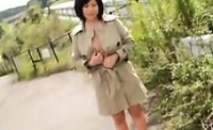 Bodacious Japanese beauty shows off her superb curves in th